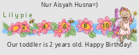 Lilypie Second Birthday (0S0P)