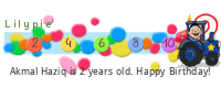 Lilypie Second Birthday (2fnb)