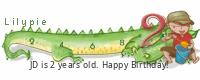 Lilypie Second Birthday (MUvp)
