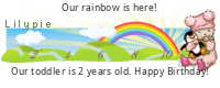Lilypie Second Birthday (WU9u)