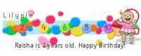 Lilypie Second Birthday (poOP)